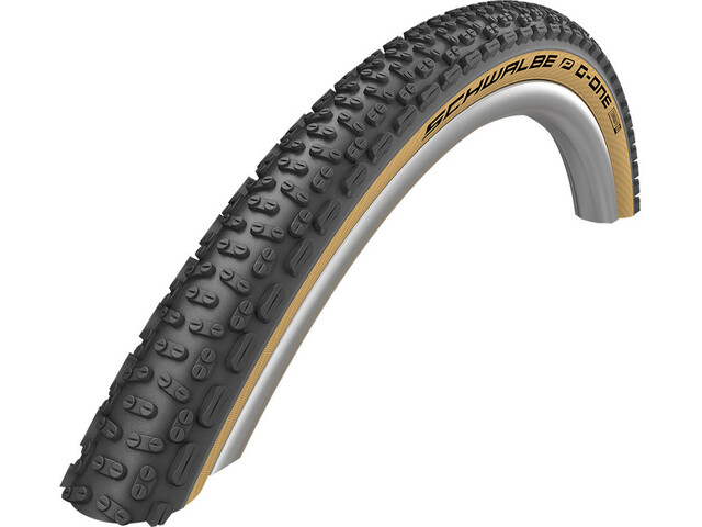 "SCHWALBE G-One Ultrabite Performance Pneu souple 28x1.50"" RaceGuard E-25 Addix, classic skin"